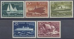 Danzig, MiNr. 284-288, Postfrisch / MNH - Danzig