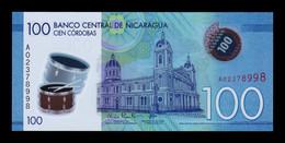 Nicaragua 100 Córdobas 2014 Pick 212 Polymer SC UNC - Nicaragua