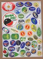 AC - FRUIT LABELS Fruit Label - STICKERS LOT #B - Frutas Y Legumbres