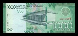 Nicaragua 1000 Córdobas 2016 Pick 215 SC UNC - Nicaragua