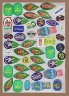 AC - FRUIT LABELS Fruit Label - STICKERS LOT #S - Obst Und Gemüse