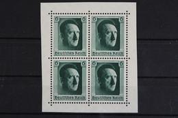 Deutsches Reich, MiNr. 646 Blockmittelteil, Postfrisch / MNH - Unused Stamps