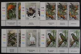 Jersey, MiNr. 314-319, 3er Streifen, Ecken Li. Unten, Postfrisch / MNH - Jersey