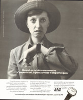 """PUB MONTRES """" JAZ """" 1973 ( 2 ) - Sonstige"""