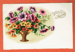 22P - Vive Marie 1939 - Collection B.co.B. N°8809/1 - Fiori