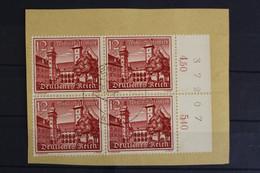 Deutsches Reich, MiNr. 735, 4er Block, Rechter Rand, Briefstück - Sin Clasificación
