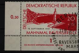 DDR, MiNr. 720, Ecke Links Unten, DV, Gestempelt - Unclassified