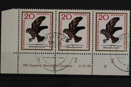 DDR, MiNr. 1149, Dreierstreifen, Ecke Links Unten, DV II, Gestempelt - Used Stamps