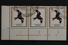 DDR, MiNr. 1147, Dreierstreifen, Ecke Links Unten, DV II, Gestempelt - Used Stamps