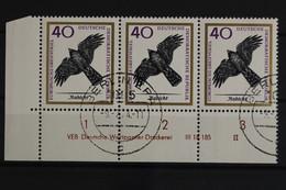 DDR, MiNr. 1151, Dreierstreifen, Ecke Links Unten, DV II, Gestempelt - Used Stamps