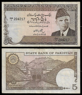 PAKISTAN BANKNOTE - 5 RUPEES (1989-84) P#38 VF/XF (NT#04) - Pakistan