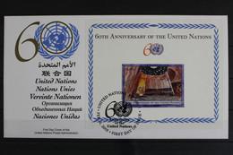 UNO New York, MiNr. Block 25, UNPA - FDC, FDC - Unclassified