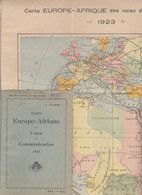 "2 LIBRETTI + VARIA DOCUMENTAZIONE "" UNION ECONOMIQUE  ""  ELISABETHVILLE -  + CHEMIN DE FER AU KATANGA 1924 - Italie"