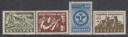 Bulgaria 1947 - Activites Industrielles, YT 566/69, Neufs** - Ungebraucht