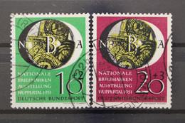 Deutschland (BRD), MiNr. 141-142, Gestempelt - Used Stamps