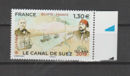 FRANCE / 2019 / Y&T N° 5347 ** : Canal De Suez X 1 BdF D - Ongebruikt