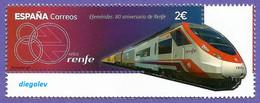 España. Spain. 2021. 80 Aniversario De RENFE - 2011-... Ongebruikt