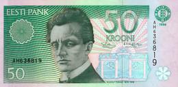 50 Krooni 1994 Siim Kallas & Raimund Hagelberg // AH // De La Rue - Estonia