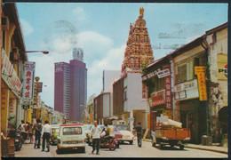 °°° 26069 - MALAYSIA KUALA LUMPUR - THE INDU TEMPLE - 1972 With Stamps °°° - Malaysia