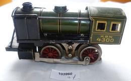 Seltene Alte Dampflokomotive KBN 4300 Elektrisch Spur 0 Bub Um 1930 - Locomotieven