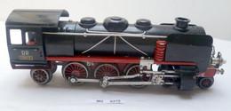 Modelleisenbahn Spur 0 Stadtilm Liebmann Große Dampflok 19513 Mit Schlepptender - Locomotieven