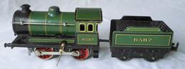 Mechanisches Blechspielzeug Dampf Lokomotive KB Schlüsselaufzug Um 1930 (107925) - Locomotieven