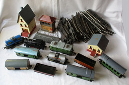 Modelleisenbahn Konvolut Marke VEB Metallwarenfabrik Stadtilm Spur S (117921) - Locomotieven