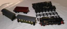 Dampflokomotive Stadtilm Mit 3 Hängern Spur 0 Plus Schienen (114332) - Locomotieven