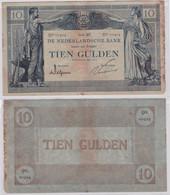 Seltene 10 Gulden Banknote Niederlande 6.Mai 1919 (109964) - Unclassified