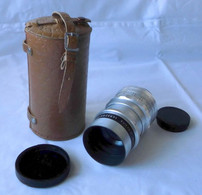 Teleobjektiv Meyer-Optik Görlitz Trioplan 1:2,8 / 100 V + Tasche (107285) - Film Projectors