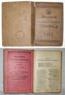 Adreßbuch Der Herzogl. Haupt-und Residenzstadt Altenburg (17830) - Livres Anciens