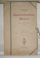 Vorlagen Zur Theaterdekorations Malerei Um 1920 - Livres Anciens