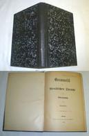 Grammatik Der Wendischen Sprache In Der Oberlausitz 1895 - Livres Anciens