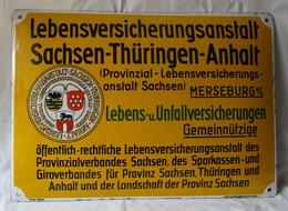 Versicherungsschild Lebensversicherungsanstalt Sachsen-Thüringen-Anhalt (142588) - Non Classés