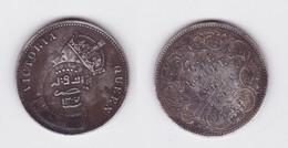 1 Rupie Indien 1862 Mit Gegenstempel Jemen 1307 Östl. Aden Protektorat (119606) - United Arab Emirates