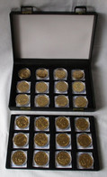 Sammlung 24 Münzen Solomon Islands Eritrea Isle Of Man St. Helena Usw. (134491) - Unclassified