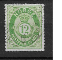 1877 USED Norge, Mi 26 - Used Stamps