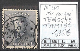 [856537]TB//O/Used-Belgique 1919 - N° 169, 15c Casqué, TEMSCHE - TAMISE - 1919-1920 Trench Helmet