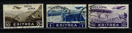 Eritrea 1936 Yv PA  19, 22/23  (o) Used / Obl / Gebr - Eritrea