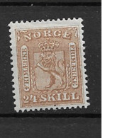 1863 MH Norge, Mi 10 - Neufs
