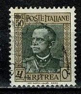 Eritrea 1931 Yv  191  (o) Used / Obl / Gebr - Eritrea