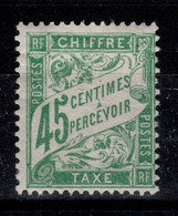 Taxe Duval YV 36 N* (un Peu Forte) Cote 10 Euros - 1859-1955.. Ungebraucht