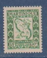MARTINIQUE              N°  YVERT   TAXE 28  NEUF SANS CHARNIERE      ( NSCH  2/26 ) - Timbres-taxe