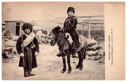 Russia Russland Type - SIBERIA VINTAGE VINTAGE Postcard 1904 - Rusia