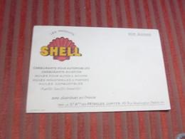Buvard Huile Pour Moteurs , Shell, Pétroles Jupiter - Gas, Garage, Oil