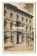 Perugia - Palace Hotel, Entrance People - Old Italy Postcard - Perugia