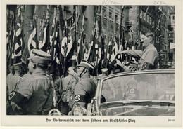 Hitler - 2* World War - Reichsparteitag Nurnberg September 1938 (2 Images) - Guerra 1939-45