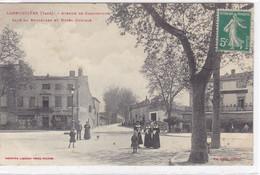 Tarn - Labruguière - Avenue De Carcassonne - Café Du Boulevard Et Hôtel Curvale - Labruguière