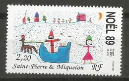Timbre St Pierre Et Miquelon Neuf ** N 512 - Ungebraucht
