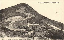 LE MONT DORE  Le Sommet Du Puy De Sancy (1880m D'Altitude ) Animée Chevaux Refuge RV - Le Mont Dore